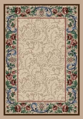 Milliken Innovations Rose Damask Rug