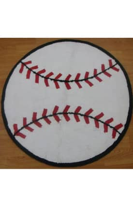 ITM All Stars Sports Base Ball Rug