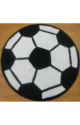 ITM All Stars Sports Soccer Ball Rug