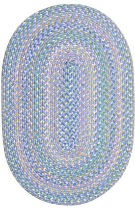 ITM Tropical Delight Pastel Braided Rug
