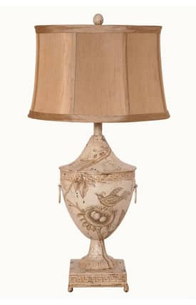 Guild Master Coventry Coventry Table Lamp in Ivory Lighting