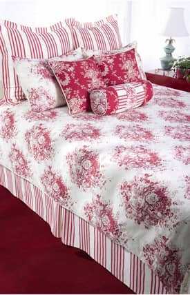 Home Texco Floral Roselyn Duvet Set