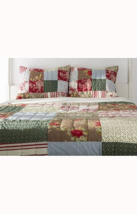 Home Texco Floral Cottage Grove Quilt Set