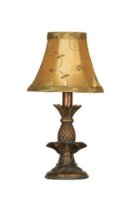 Mario Industries Lodge Pineapple Accent Lamp in Bronze Finish Lighting