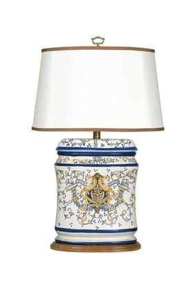 Mario Industries Tuscany Tuscan 07T575 Table Lamp in White Finish Lighting