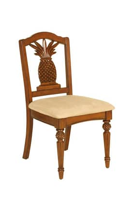 Passport Furniture Chairs Carved Pineapple Desk Chair Furniture