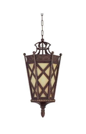 Reliance Lamp Pendant Iron Hanging 4 Light Chandelier in Antique Gold Finish Lighting