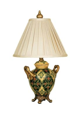 Reliance Lamp Countryside Countryside Table Lamp in Green Lighting