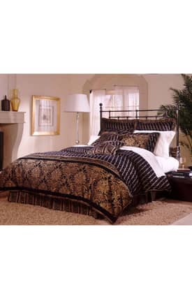 Southern Textiles Elite Diamonte Bed In a Bag Comforter Set