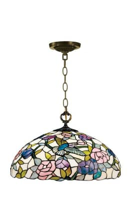 Dale Tiffany Tiffany 7655/1Lta Hummingbird Hanging Fixture Pendant Lighting