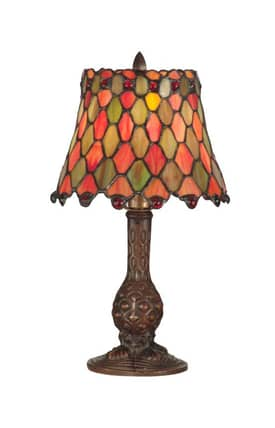 Dale Tiffany Tiffany TA101340 Manti Accent Table Lamp Lighting