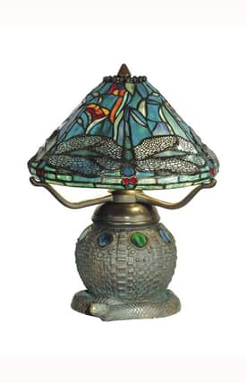 Dale Tiffany Tiffany Tiffany TT10033 Table Lamp in Dark Antique Bronze Finish Lighting