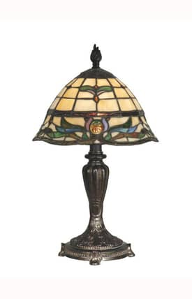 Dale Tiffany Tiffany Tiffany TT10087 Table Lamp in Fieldstone Finish Lighting