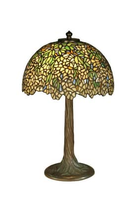 Dale Tiffany Tiffany TT10335 Wisteria Table Lamp Lighting
