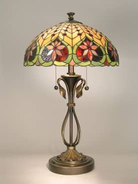 Dale Tiffany Markus Markus Tiffany Table Lamp with Antique Brass Finish Lighting