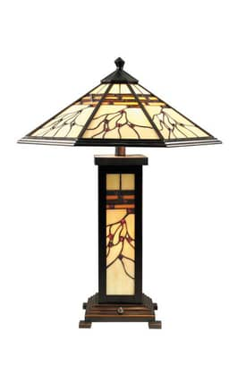 Dale Tiffany Tiffany TT70331 Mission Hills Table Lamp Lighting