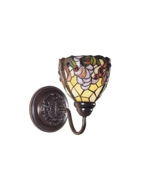 Dale Tiffany Jacqueline Fancy Jacqueline Fancy Wall Sconce in Bronze Finish Lighting