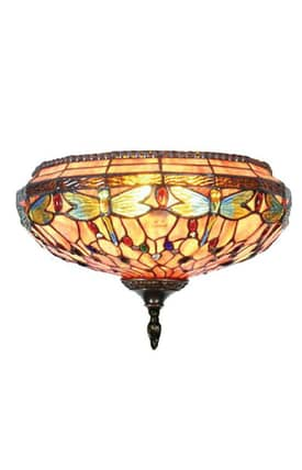 Dale Tiffany Tiffany TW11160 Dragonfly Wall Sconce Lighting
