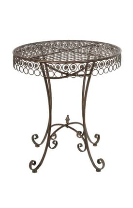 Privilege Intl. Tables Bistro Iron Table Furniture