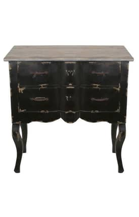 Privilege Intl. Tables 2 Drawer Reclaimed Accent Table Furniture
