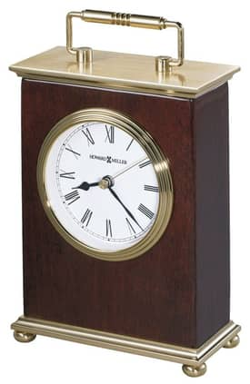 Howard Miller Table Clocks Rosewood Bracket Table Clock