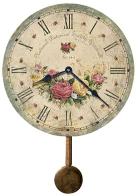 Howard Miller Moment in Time Savannah Botanical Society™ VI Wall Clock