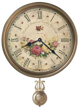 Howard Miller Moment in Time Savannah Botanical VII Wall Clock
