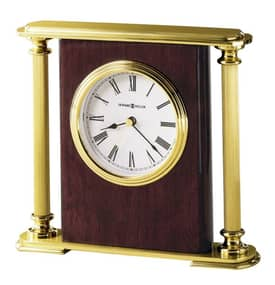 Howard Miller Table Clocks Rosewood Encore Bracket Table Clock