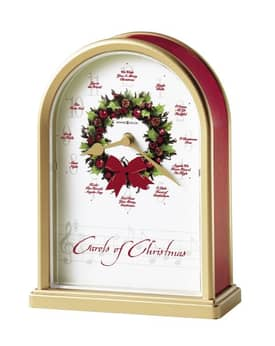 Howard Miller Musical Clocks Carols of Christmas II™ Chiming Mantel Clock