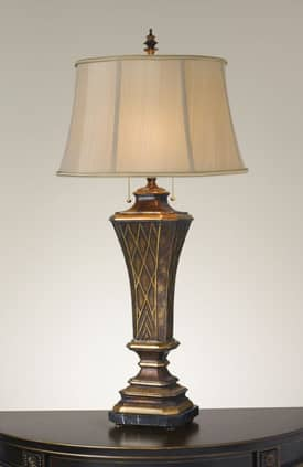 Murray Feiss Marquee Marquee Table Lamp with Merlot Finish Lighting