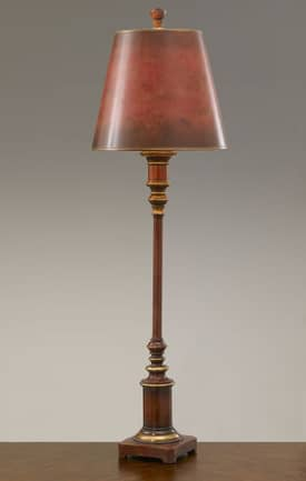 Murray Feiss Maddalyn Maddalyn 9751MRD Table Lamp in Modeled Red Finish Lighting