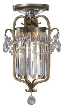 Murray Feiss Gianna Gianna F24741GS 1 Light Chandelier in Gilded Silver Finish Lighting