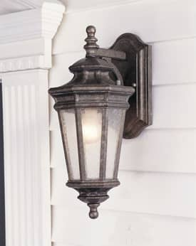Murray Feiss Casteille Casteille OL2901PBR Outdoor Lantern in Peruvian Bronze Finish Lighting