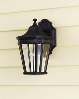 Murray Feiss Cotswold Lane Cotswold Lane OL5400BK Outdoor Lantern in Black Finish Lighting