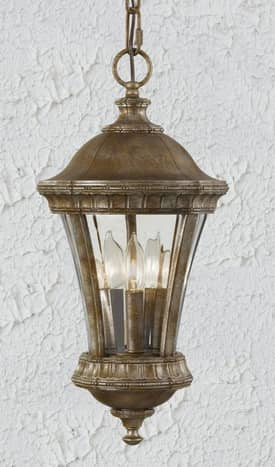 Murray Feiss Alden Alden OL6310BRB Outdoor Hanging Lantern in British Bronze Finish Lighting
