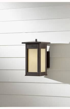 Murray Feiss Adana Adana 2 Light Wall Lantern in Woodland Bronze Finish Lighting