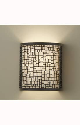 Murray Feiss Joplin Joplin 1 Light Sconce in Light Antique Bronze Finish Lighting