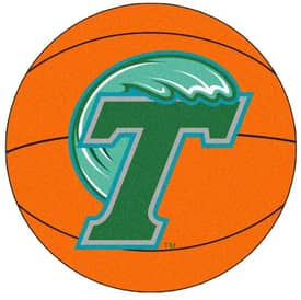 Fanmats Basketball Tulane Basketball Rug