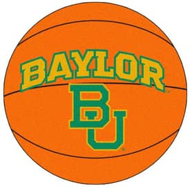 Fanmats Basketball Baylor Basketball Rug