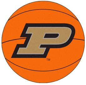 Fanmats Basketball Purdue Basketball Rug