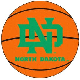 Fanmats Basketball North Dakota Basketball Rug