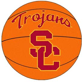 Fanmats Basketball Southern California Basketball Rug