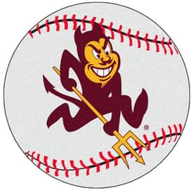 Fanmats Baseball Arizona State Baseball Rug