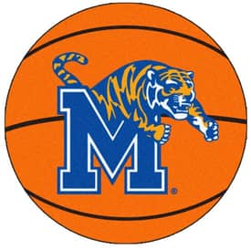 Fanmats Basketball Memphis Basketball Rug