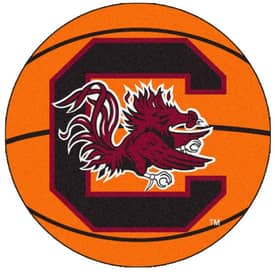 Fanmats Basketball South Carolina Basketball Rug
