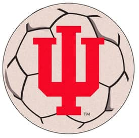 Fanmats Soccer Indiana Soccer Ball Rug