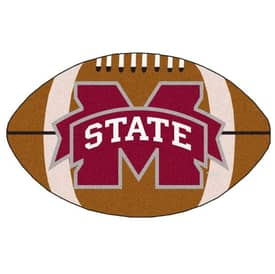 Fanmats NFL Mississippi State Football Rug
