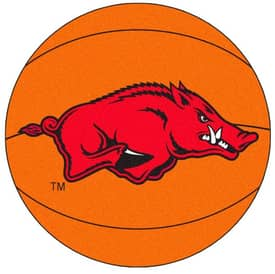 Fanmats Basketball Arkansas Basketball Rug