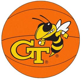 Fanmats Basketball Georgia Tech Basketball Rug