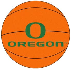 Fanmats Basketball Oregon Basketball Rug